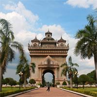 Vientiane - Siem Reap - Singapore by Air