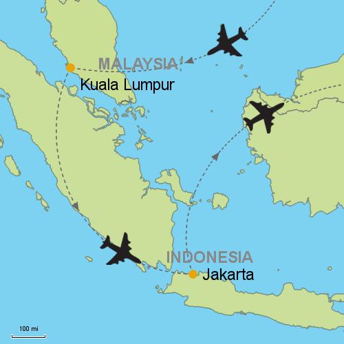 Kuala Lumpur - Jakarta Customizable Itinerary from Asia.Tripmasters.com