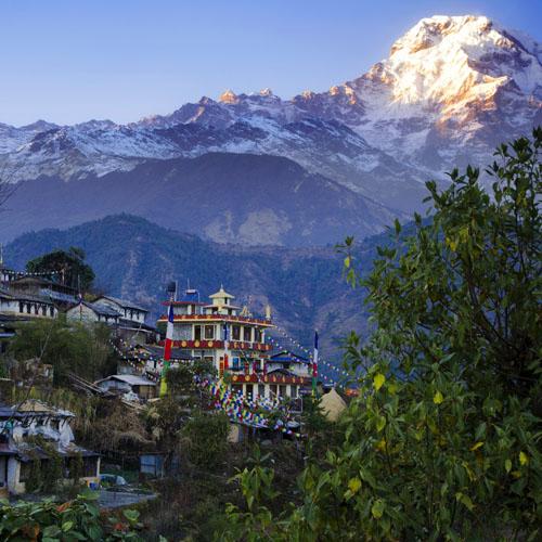 Delhi - Kathmandu - Pokhara