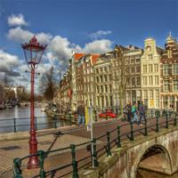 Amsterdam and Rotterdam by Train