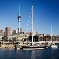 Auckland - Queenstown - Christchurch by Air