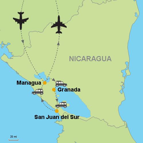 Granada San Juan del Sur Customizable Itinerary