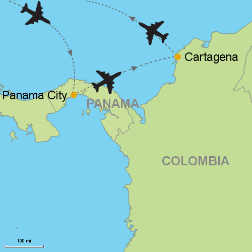 Panama City - Cartagena- Customizable Itinerary