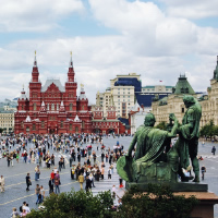 Riga - St. Petersburg - Moscow by Air