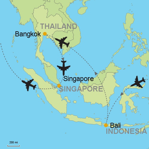 Bali - Bangkok - Singapore Customizable Itinerary from Asia ...