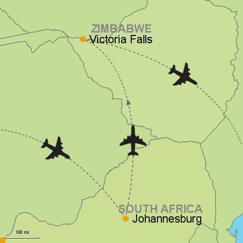 Johannesburg - Victoria Falls Customizable Itinerary from Asia ...