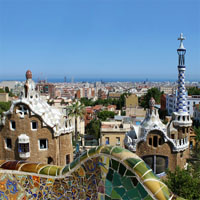 Barcelona - Nice and French Riviera Hill Towns