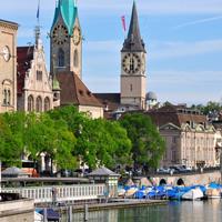Zurich - St Moritz - Lugano - Milan