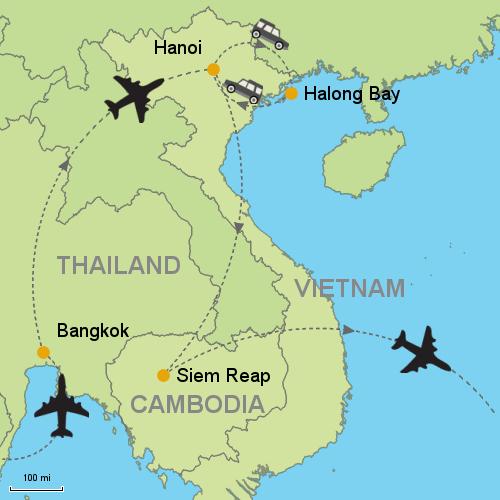 Bangkok - Hanoi - Halong Bay Cruise - Siem Reap?relItin=119165 ...