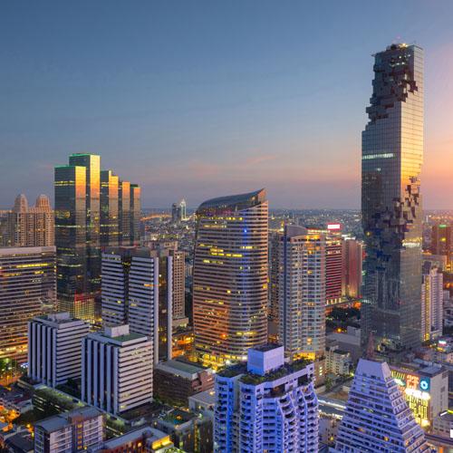 Singapore - Bangkok - Hong Kong by Air