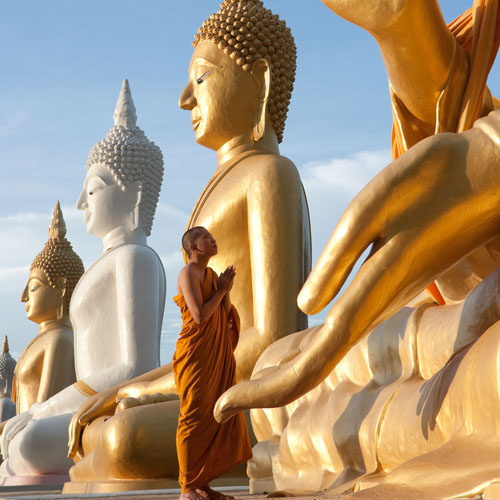 Thailand - Bangkok - Buddha Statue