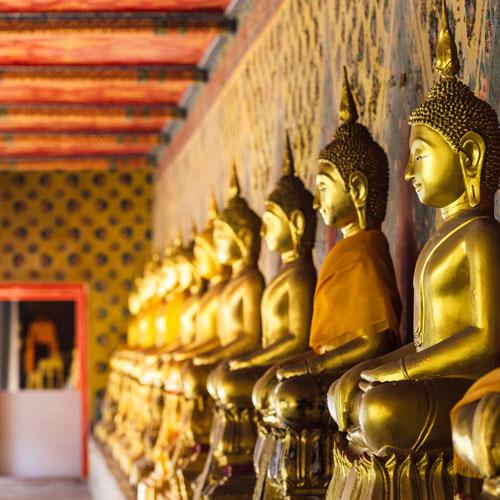 Bangkok - Hanoi - Luang Prabang - Vientiane by Air