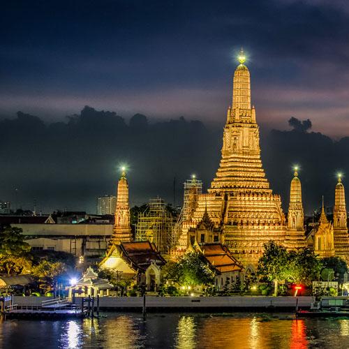 Bangkok and Jakarta by Air